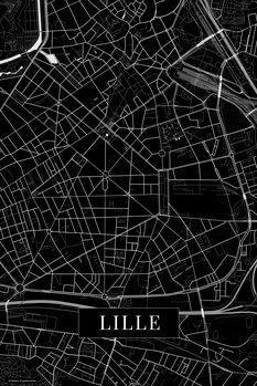 Kart over Lille black