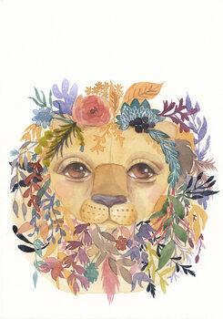 Illustrasjon Lion