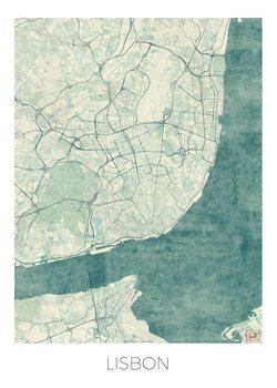 Kart over Lisbon