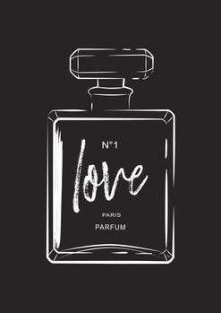 Illustrasjon Love Perfume