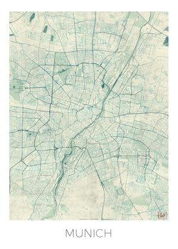 Kart over Munich
