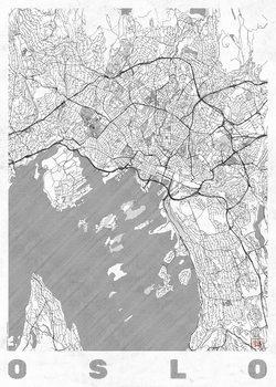 Kart over Oslo