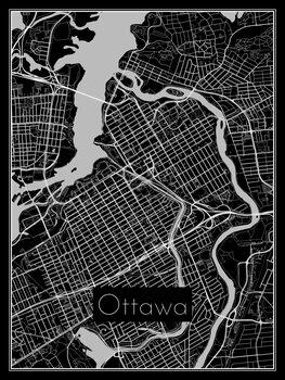 Kart over Ottawa