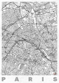 Kart over Paris