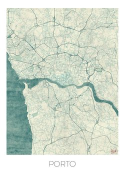 Kart over Port