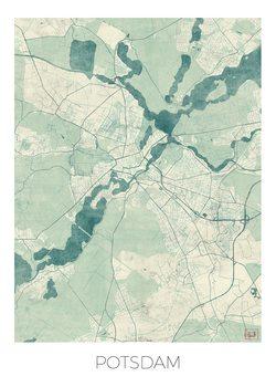 Kart over Potsdam