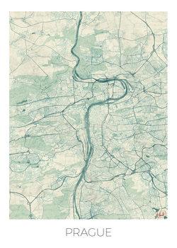 Kart over Prague