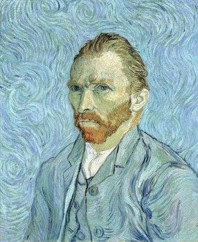 Self portrait, 1889 Kunsttrykk