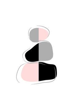 Illustrasjon Stones Two