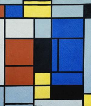 Tableau No.1, 1925 Kunsttrykk