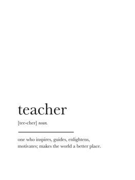 Illustrasjon teacher