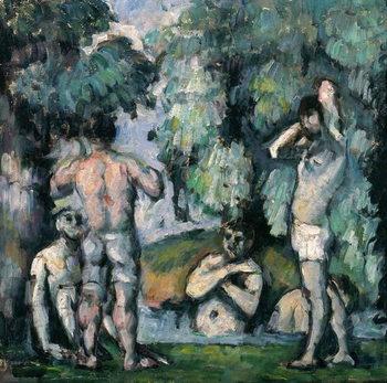 The Five Bathers, c.1875-77 Kunsttrykk