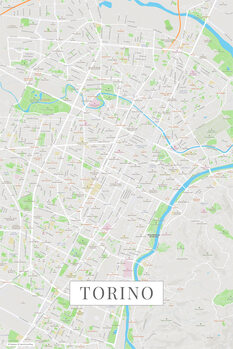 Kart over Torino color