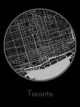 Kart over Toronto