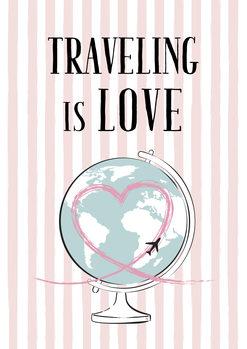 Illustrasjon Travelling