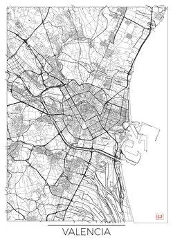 Kart over Valencia