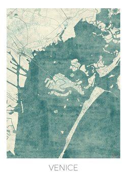 Kart over Venice