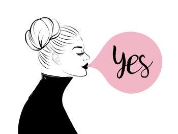 Illustrasjon Yes