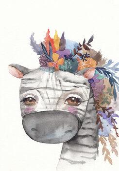 Illustrasjon Zebra