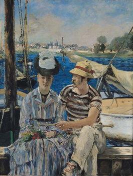 Argenteuil, 1874 Kunsttrykk