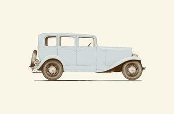 Car of the 30s Kunsttrykk