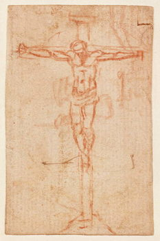 Christ on the Cross Kunsttrykk