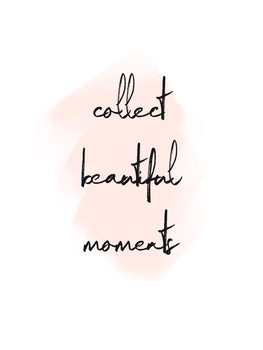 Illustrasjon Collect beautiful moments