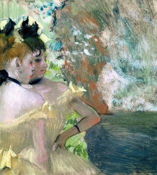 Dancers in the Wings Kunsttrykk