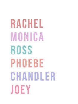 Illustrasjon friendsnames