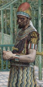 Herod (21BC-39AD), illustration for 'The Life of Christ', c.1886-94 Kunsttrykk