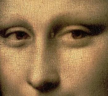 Mona Lisa, c.1503-6 (oil on panel) Kunsttrykk