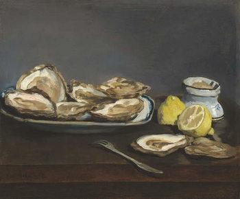 Oysters, 1862 Kunsttrykk