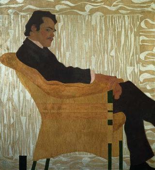 Portrait of Hans Massmann, 1909 Kunsttrykk