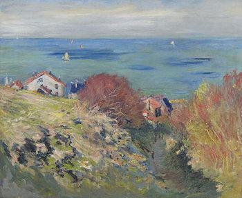 Pourville, 1882 Kunsttrykk