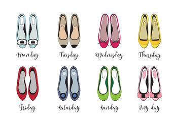 Illustrasjon Shoe week