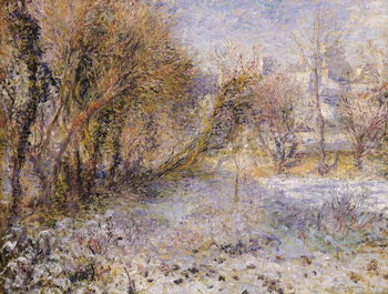Snowy Landscape Kunsttrykk