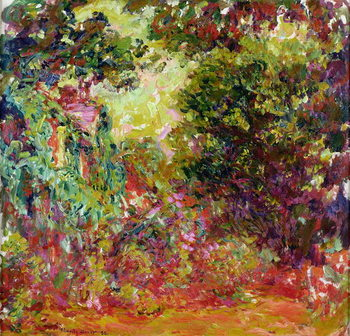 The Artist's House from the Rose Garden, 1922-24 Kunsttrykk