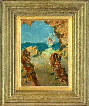 The Ballet Dancer, 1891 (oil on mahogany panel) Kunsttrykk