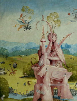 The Garden of Earthly Delights, 1490-1500 Kunsttrykk