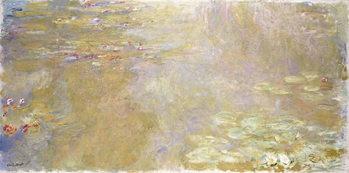 Waterlily Pond, c.1917-1919 Kunsttrykk