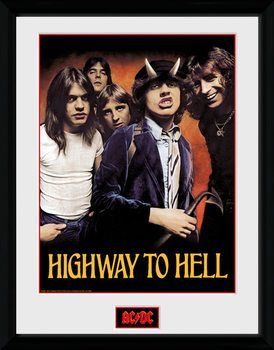 AC/DC - Highway to Hell kunststoffrahmen