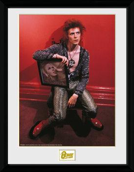 David Bowie - Chair gerahmte Poster