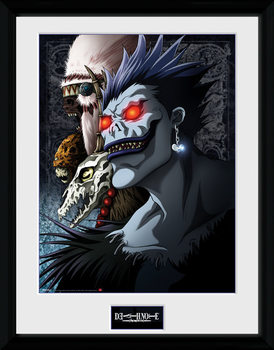 Death Note - Shinigami gerahmte Poster