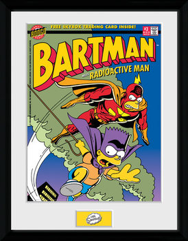 Die Simpsons - Bartman gerahmte Poster