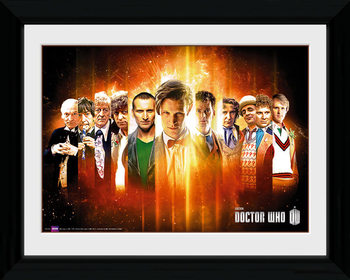 Doctor Who - Regenerate gerahmte Poster