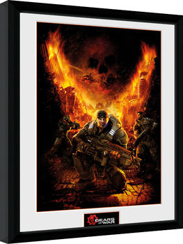 Gears of War - Gears 1 kunststoffrahmen