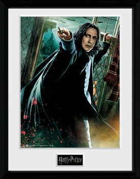 Harry Potter - Snape Wand gerahmte Poster