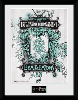 Harry Potter - Triwizard Beaux Batons gerahmte Poster