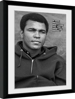 Muhammad Ali - Dreams kunststoffrahmen