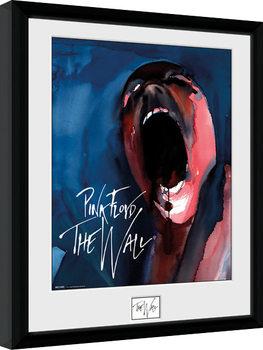 Pink Floid: The Wall - Scream gerahmte Poster